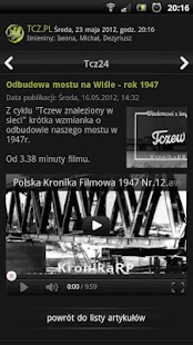 Tcz.pl - screenshot thumbnail