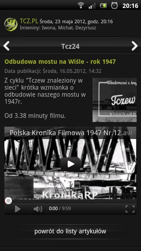 Tcz.pl - screenshot