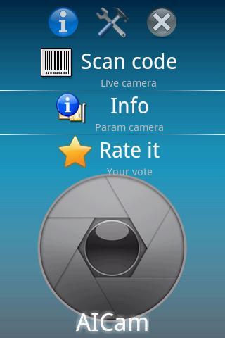 Scanner codes AICAMAICAM