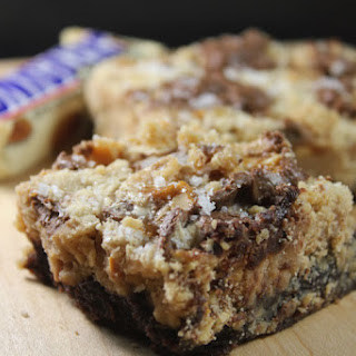 "Double Fudge, Almond, Peanut & Sea Salt ""When You're Hungry"" Bars"