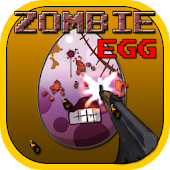 Zombie Egg : AK47 Shooting