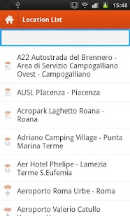 Guglielmo HotSpot Finder- screenshot thumbnail