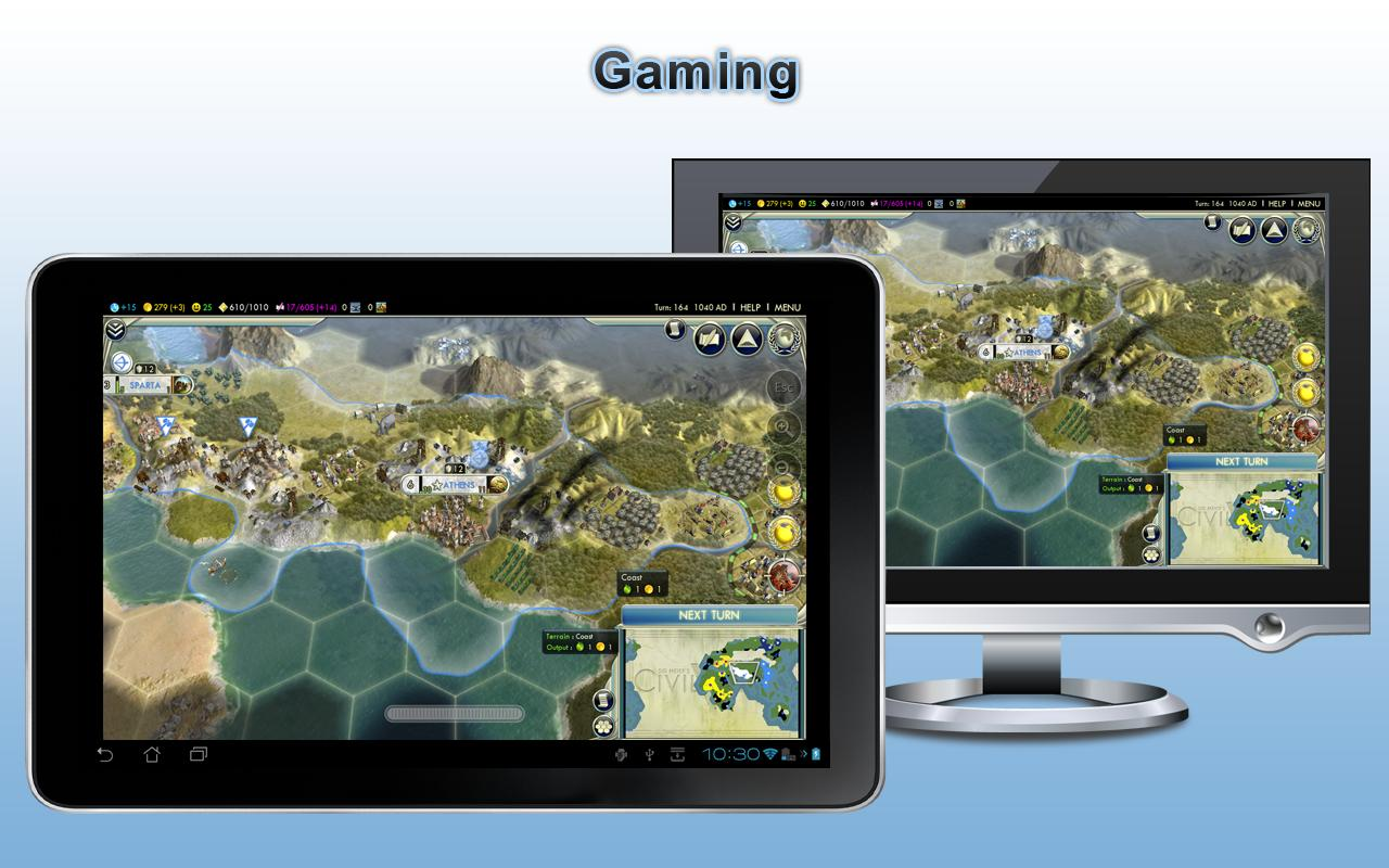 Splashtop Remote PC Gaming THD - screenshot