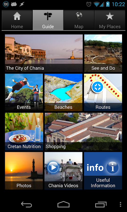 Chania Tour Guide- screenshot
