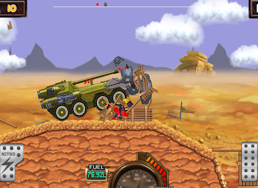 Monster Car Hill Racer Screenshot 12