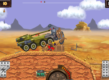 Monster Car Hill Racer Screenshot 12