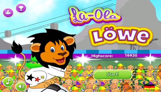 La-Ola-Löwe - Spiel zur WM