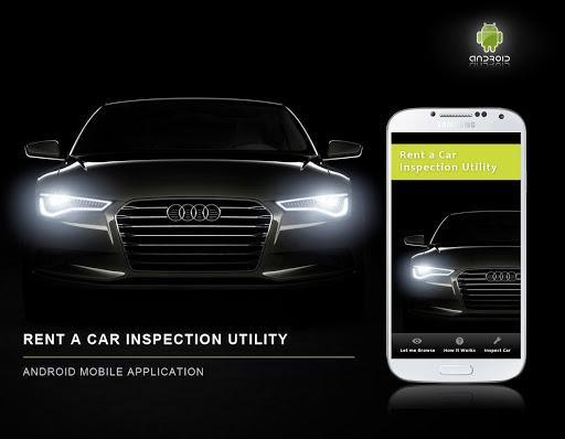Rent a Car Inspection Utility