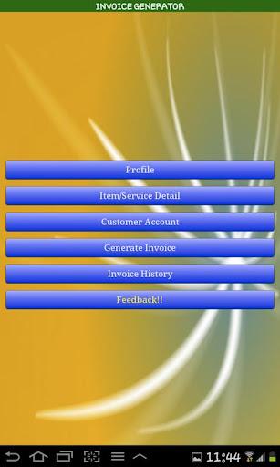Invoice Generator in PDF
