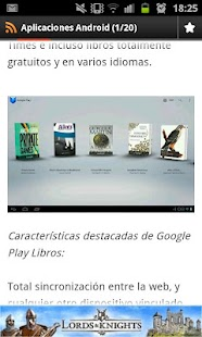 Aplicaciones android - screenshot thumbnail