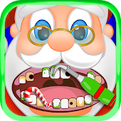 Christmas Dentist Office Santa - Doctor Kids Games