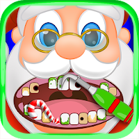 Christmas Dentist Office Santa - Doctor Kids Games