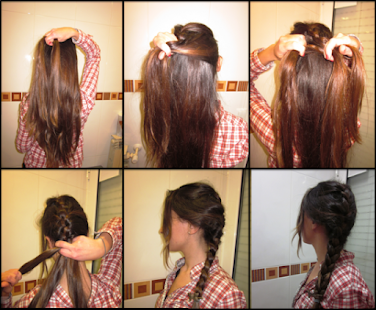 Astonishing Easy Hairstyles With Braids Android Apps On Google Play Hairstyle Inspiration Daily Dogsangcom