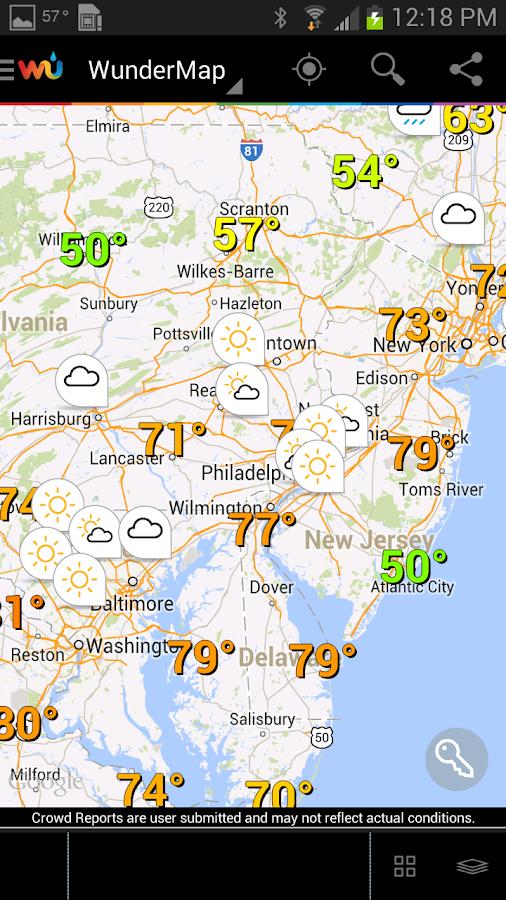 Weather Underground Map Uptowncritters - Weather underground map