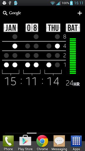 Binary Digital Clock