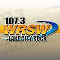 107.3 WRSW FM Lake City Rock logo