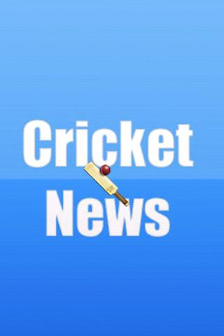 Cricket News - screenshot