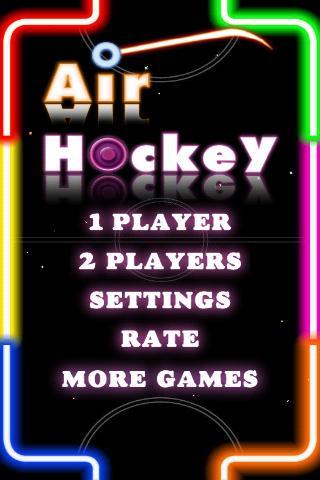 桌上冰球 Air Hockey Deluxe