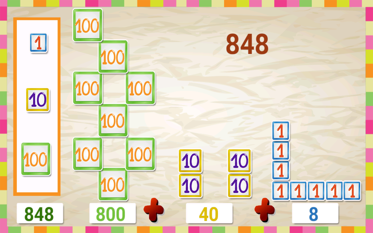 Kids math place value android apps on google play kids math place value screenshot nvjuhfo Choice Image