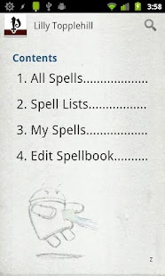 Spellbook - Pathfinder - screenshot thumbnail