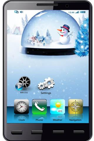 Loveliness Christmas Wallpaper - screenshot