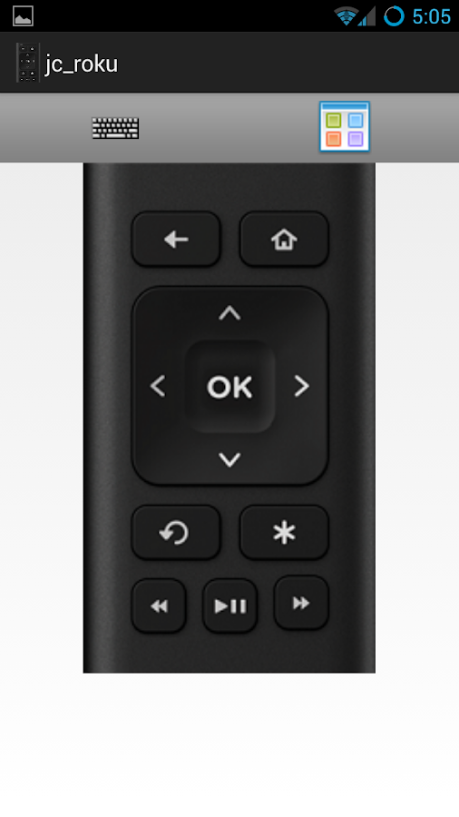 Roku Remote - screenshot