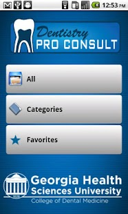 Dentistry ProConsult screenshot for Android