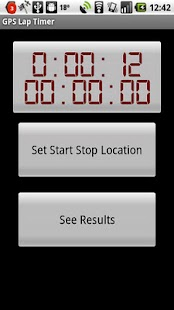 GPS Lap Timer - screenshot thumbnail