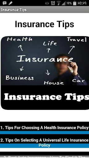 Book : Insurance Tips