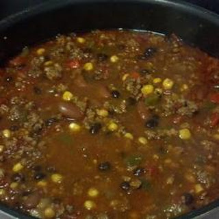Chad's Slow Cooker Taco Soup.