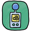 sound meter(decibel) icon