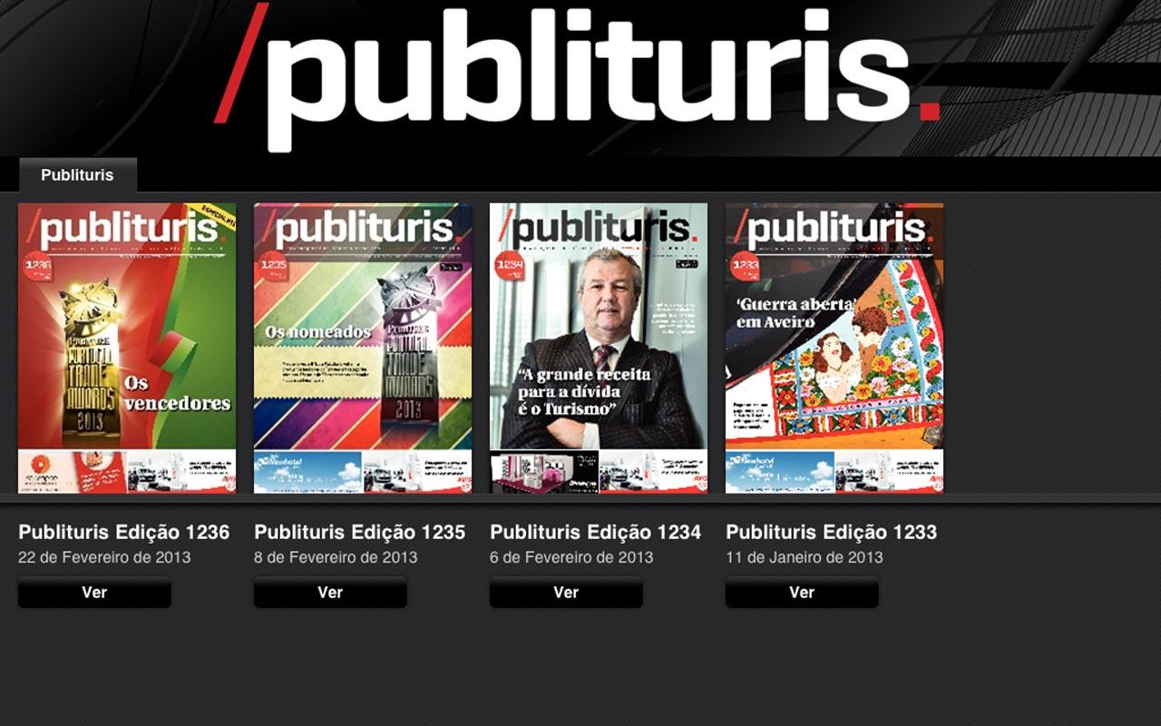 Publituris- screenshot