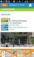 Screenshot of Washington Guide Map & Hotels