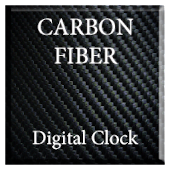 Carbon Fiber Digital Clock