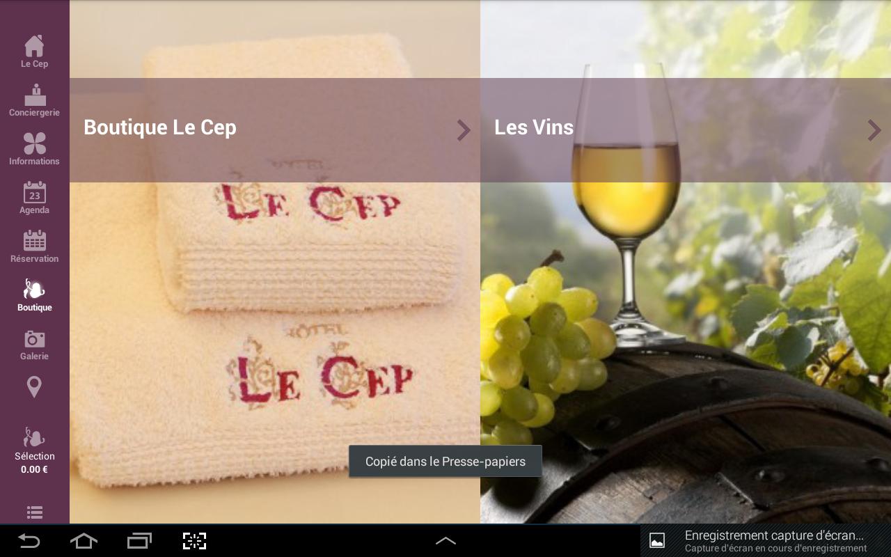 Le Cep - screenshot