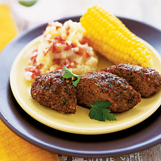 Mini Meat Loaves with Corn and Potatoes