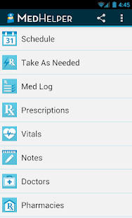 Med Helper Pill Reminder- screenshot thumbnail