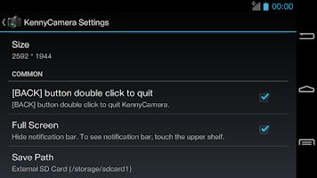 Screenshot of KennyCamera