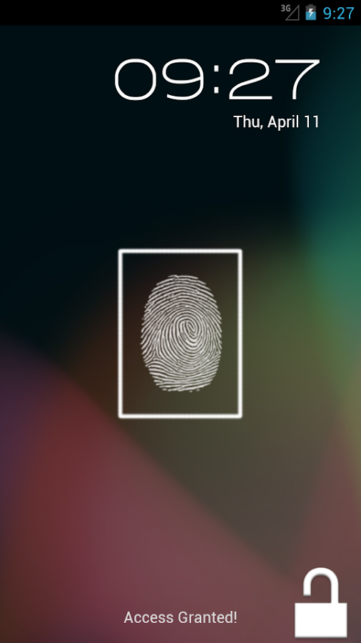 Finger Scanner - screenshot