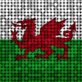 LED Flag Wales Live Wallpaper