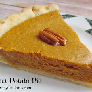 Sweet Potato Pie.