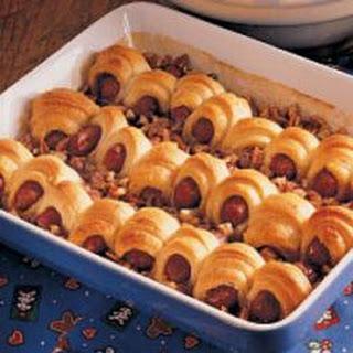 Sweet Sausage Rolls.