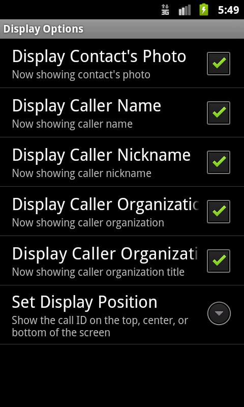 Answer Calls by Gestures (ACG)- screenshot