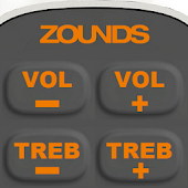 Zounds Hearing Aid Remote