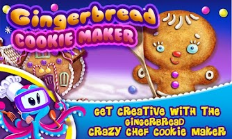Screenshot of Gingerbread Crazy Chef