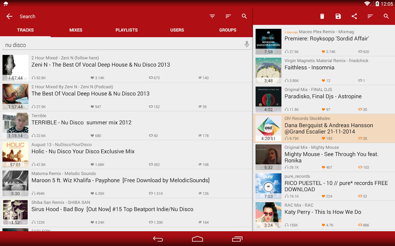 My Cloud Player for SoundCloud - screenshot