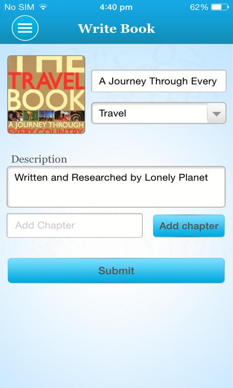 Bookmix - How to write a book - screenshot