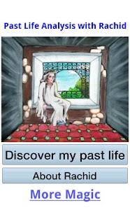Past life analysis with Rachid- screenshot thumbnail