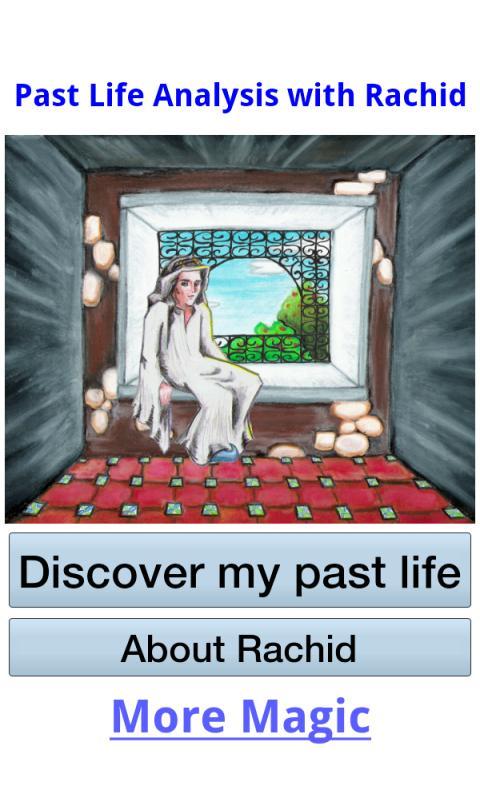 Past life analysis with Rachid- screenshot