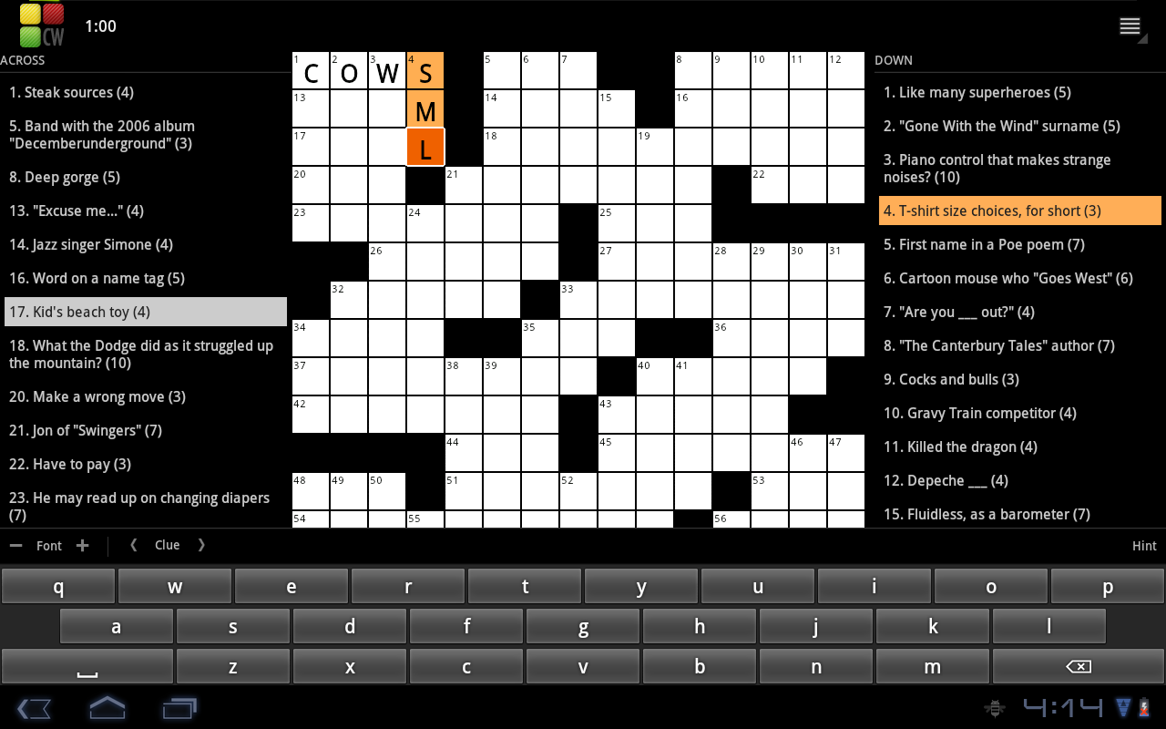 Crossword Puzzle Revenue Download Estimates Google Play Store Us